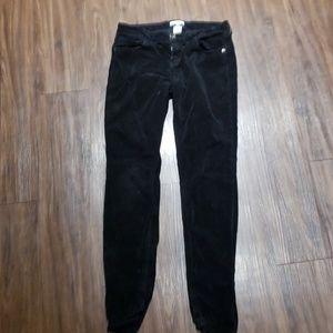 Candies black pants Jr size 9 soft